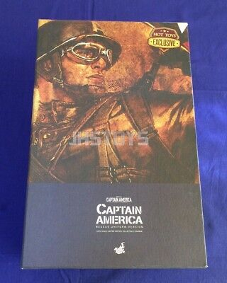 $ CDN809.33 • Buy New Hot Toys 1/6 Captain America The First Avenger Rescue Version MMS180