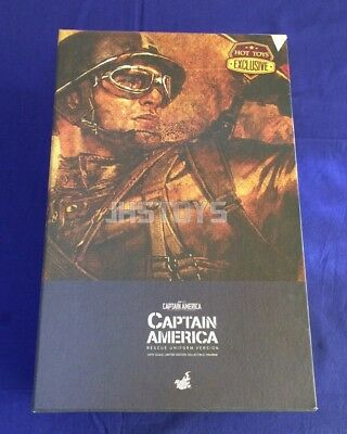 $ CDN815.46 • Buy New Hot Toys 1/6 Captain America The First Avenger Rescue Version MMS180