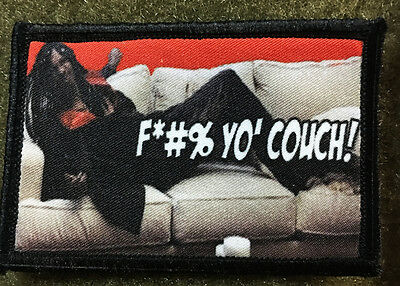 $7.99 • Buy Dave Chappelle Rick James Couch Morale Patch Funny Military Tactical Army USA