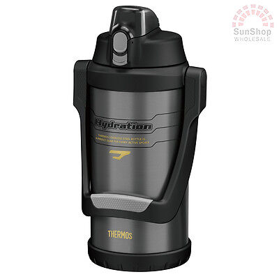 AU67 • Buy THERMOS S/S 2L Vacuum Insulated Hydration Bottle W/ Carry Handle Grey Sports!