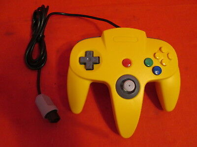 $ CDN19.25 • Buy Controller Remote Yellow For N64 Nintendo Gamepad