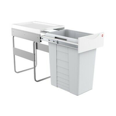 £118.95 • Buy Hailo TE Swing 40.1/42 Easy-Cargo Pull Out 3668-40 Waste Bin Cabinets From 40 Cm