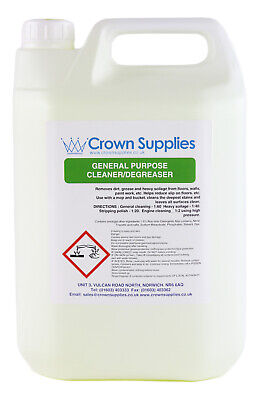 £11.21 • Buy General Purpose Cleaner And Degreaser Concentrate 5 Litre