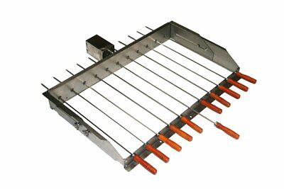 £109.99 • Buy BBQ Cypriot Grill Top Rotisserie Kebab Skewers With Electric Motor - Small