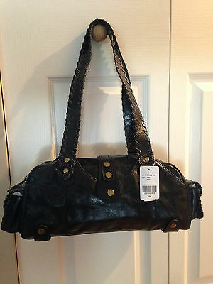 $ CDN57 • Buy  Brand New Danier Black Shoulder Strap Leather Purse