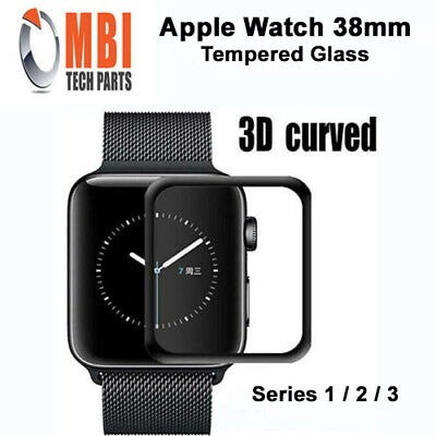 $ CDN6.55 • Buy Apple Watch 38mm Tempered Glass 9H Full Screen Protector 0.26mm For Series 1 2 3