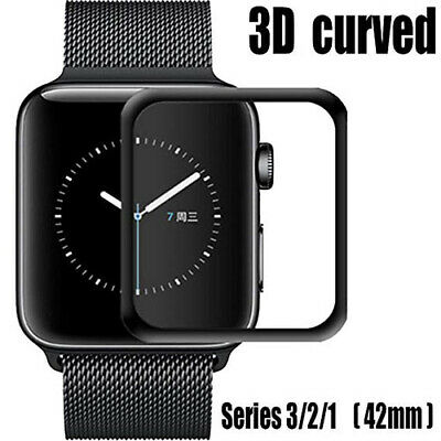 $ CDN6.32 • Buy Apple Watch 42mm Tempered Glass 9H Full Screen Protector 0.26mm Series 1 2 3