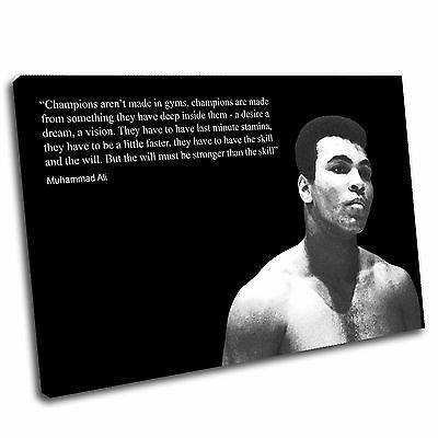 £19.99 • Buy Muhammad Ali Boxing Canvas Wall Art Print Framed Picture PREMIUM QUALITY
