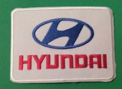 Hyundai WRC Rally Sew On / Iron On Patch Embroidered Motor Racing Badge • 2.99£