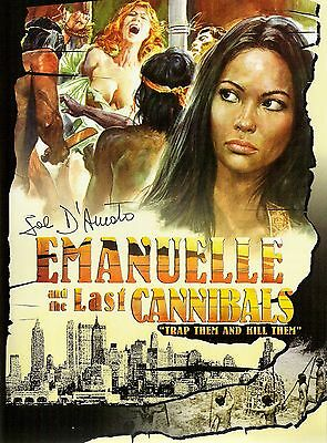 Emanuelle And The Last Cannibals Movie POSTER (1977) Pornographic  • 14.78£