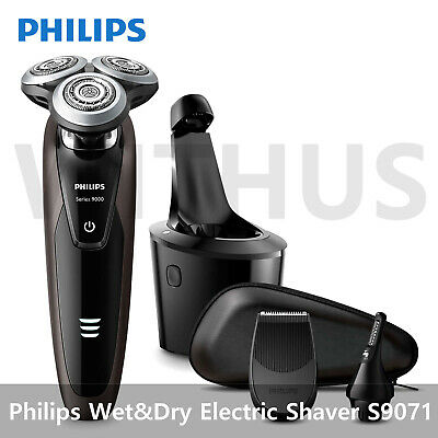 AU285.40 • Buy Philips 9000 Series S9071/37 Wet&Dry Electric Shaver With Smart Clean