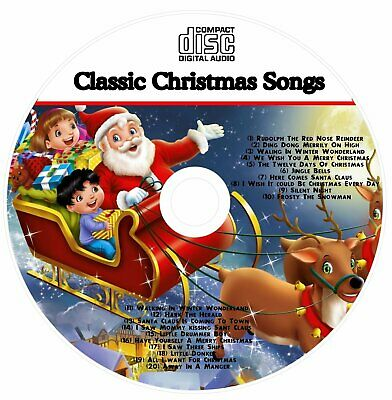 Christmas Sing-along Cd 20 Sing A Long Songs For Kids • 3.99£