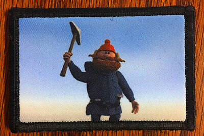 $7.99 • Buy Yukon Cornelius Morale Patch Military Funny Tactical Army Flag USA Badge Hook