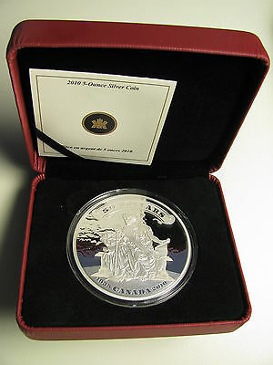 $ CDN299.95 • Buy 2010 Proof $50 5 Oz .9999 75th Ann First Bank Notes Issued Canada Fifty REDUCED