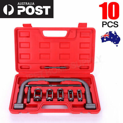 AU22.71 • Buy 10pc Valve Spring Compressor Tool Kit For Car Motorcycle Petrol Engines Vehicle