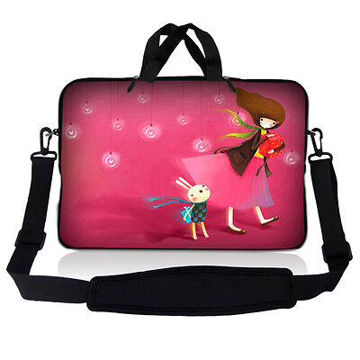 £14.27 • Buy 17.3  17.4 Laptop Sleeve Bag Case Pouch W Handle & Shoulder Strap Birthday Girl