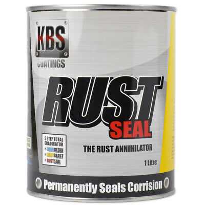 AU95.90 • Buy Gloss Black Chassis Paint KBS Rust Seal Corrosion Prevention Rustseal 1L