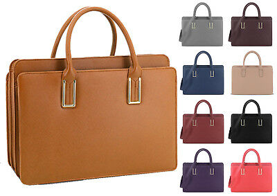 Womens LYDC Laptop Briefcase Bag Office Work Handbag School College Satchel Gift • 26.91£