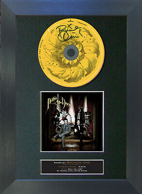 PANIC! AT THE DISCO Vices & Virtues Signed CD Mounted Autograph Photo Print 71 • 19.99£