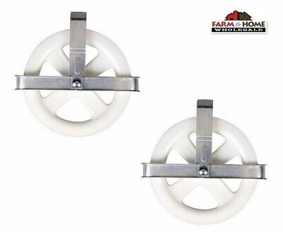 £9.88 • Buy 2 Clothesline 5  Pulley Laundry Clothes Dryer ~ New