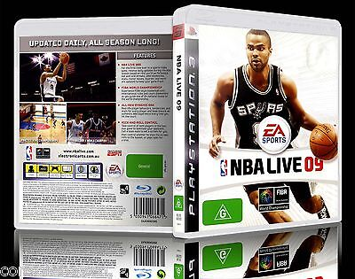 AU8.90 • Buy (PS3) NBA Live 09 / 2009 (G) (Sports: Basketball) Guaranteed, VGC With Booklet