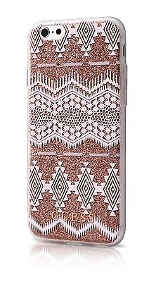 Genuine GUESS Tribal 3D Effect Silver Case Cover For IPhone 6 & 6s 4.7   Taupe • 10.57£