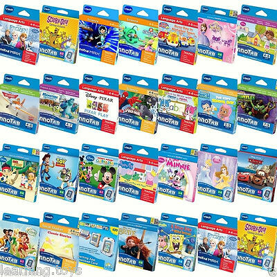 Vtech InnoTab 3S MAX Games & Cases BUY 1 GET 1 AT 20% OFF (add 2 To Basket) • 7.19£