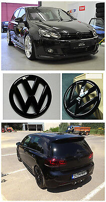 AU49 • Buy GRILLE & HATCH VW Replacement Badge For VOLKSWAGEN GOLF 6 R MK6 GTI Gloss BK