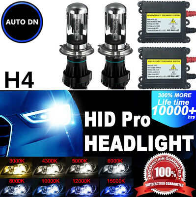 2x NEW Conversion Kit Xenon HID Headlight Bulbs Low Beam 15000K 9006 DBK For BMW