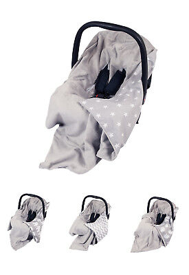 £18.99 • Buy **new Grey Baby Wrap For Car Seat / Car Seat Baby Blanket / Cover / Cosytoes