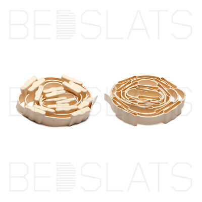 Roll-out 53mm Sprung Bed Slats Holders/ Caps / End Caps • 23.95£