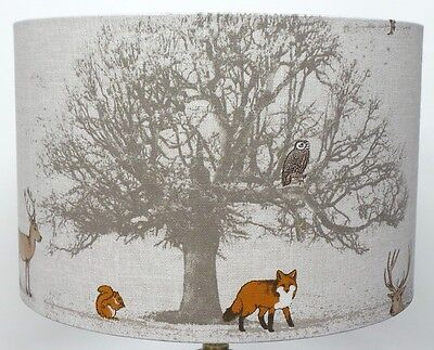 Fryetts Woodland TREE, STAG And Fox And Owl , Lampshade ,  Table Lamp ,  Pendant • 18.99£