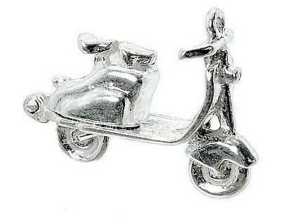 £11.99 • Buy Sterling Silver Opening Lambretta Scooter Charm