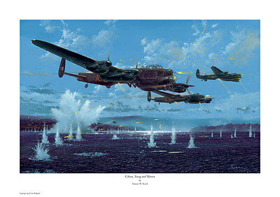 £24.99 • Buy Simon W. Atack Signed Print. Gibson,young And Martin. Dambusters, Lancaster, Ww2