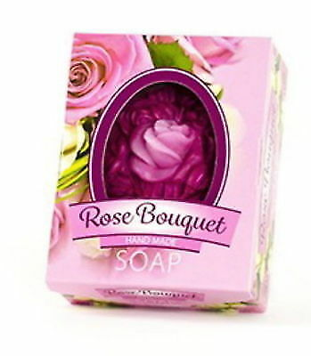 £3.33 • Buy BioFresh ROSE OF BULGARIA Glycerin Soap Rose Bouquet 50g With Natural Rose Oil