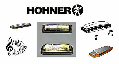$49.99 • Buy 2pc. Vintage Super Sonic (? Key) And M. Hohner Golden Melody (key F). Harmonicas