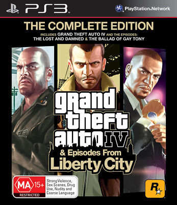 AU42.95 • Buy GTA Grand Theft Auto 4 IV The Complete Edition PS3 Game NEW