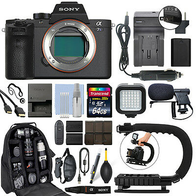 $ CDN3303.39 • Buy Sony Alpha A7S II Mirrorless 12.2MP 4K Digital Camera Body + 64GB Pro Video Kit