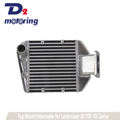 AU359 • Buy Top Mount Intercooler For Toyota Landcruiser 80 100 105 Series 1HZ&1HDT 4.2L