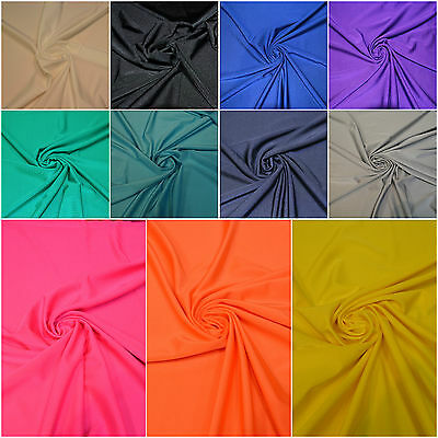 £7.49 • Buy Dancewear Compatible With LYCRA FABRIC 4 WAY STRETCH SPANDEX MATERIAL
