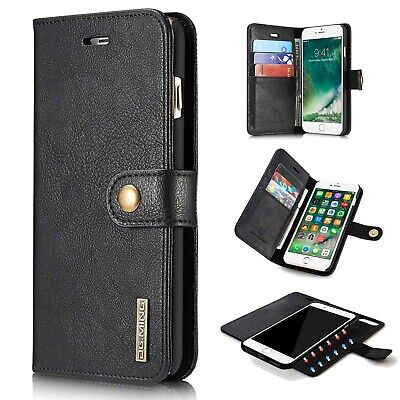 AU19.94 • Buy Premium Leather Wallet Card Holder Flip Stand Case For IPhone 7 Plus IPhone 6S