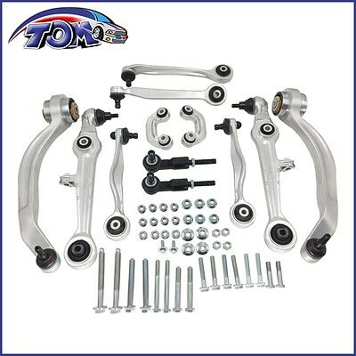 $ CDN146.73 • Buy 12x Suspension Kit Upper Lower Control Arms Tie Rod Sway Bar Audi A4 A6 Passat