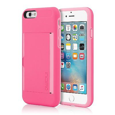 £10 • Buy Genuine Incipio Stowaway Card Case With Kickstand For IPhone 6 & 6s 4.7  Pink