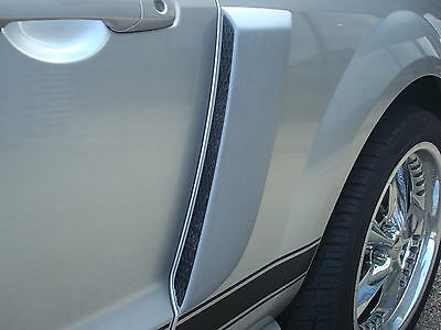 $190 • Buy Painted Side Scoops For A 2005-2009 Ford Mustang Factory Style