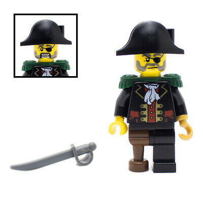 LEGO Pirate Minifigure With Sword Captain Hook • 6.49£