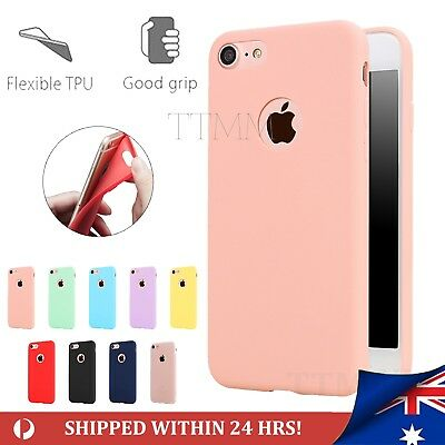 AU6.99 • Buy IPhone 6 7 Plus Case Soft Thin Candy Color Rubber Silicone TPU Cover For Apple