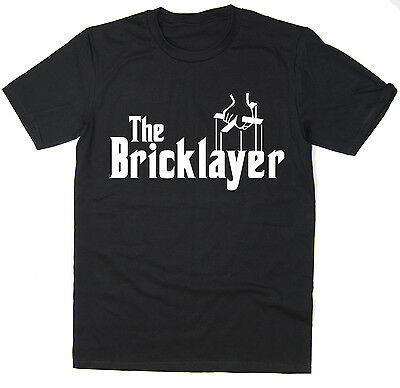 The Bricklayer - Funny T-Shirt - Godfather Spoof - Many Colours • 7.99£