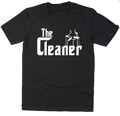 £7.99 • Buy The Cleaner - Funny T-Shirt - Godfather Spoof - Many Colours