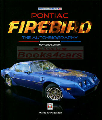 $38.95 • Buy Firebird Pontiac Book Cranswick Autobiography Transam Trans Am