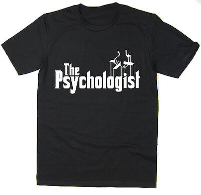 The Psychologist - Funny T-Shirt - Godfather Spoof - Many Colours • 7.99£